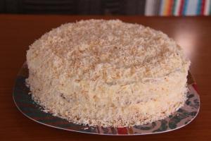 coconut cake - fb