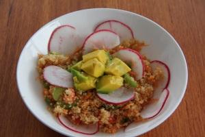 quinoa salad - fb