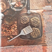 Lentil - Mushroom Burgers