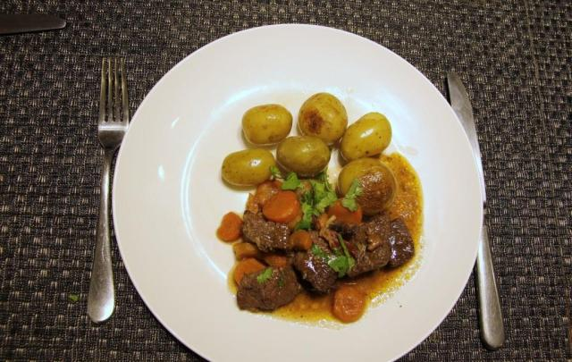 Beef carrots and potatoes