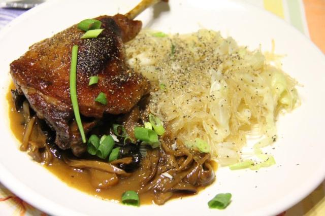 This is the duck version, served with rice noodles and plenty of sauce