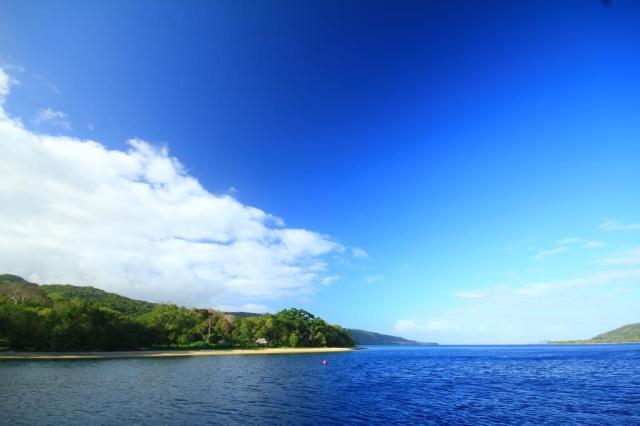 Anchored in Havannah Harbor, Vanuatu