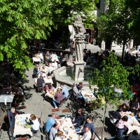 A long weekend in Munich: beer gardens, mountain trip, and museums.